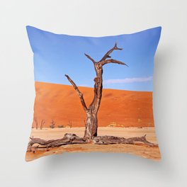 Dead Vlei Namibia IX Throw Pillow