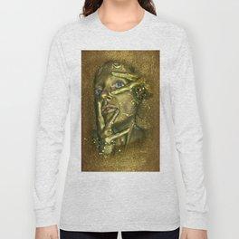 Bath in Gold Long Sleeve T-shirt