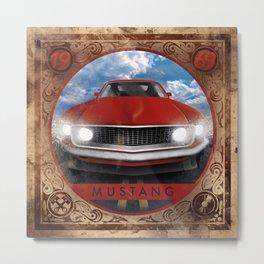 Mustang 69 Metal Print