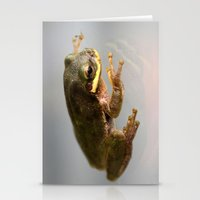 kermit Stationery Cards featuring Kermit by Organic Photography