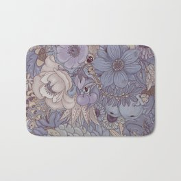 the wild side - icy tones Bath Mat
