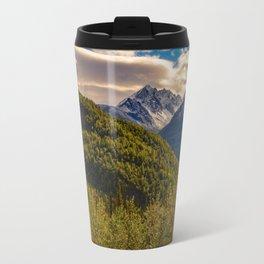 Termination Dust - Glenn Highway, Alaska Travel Mug