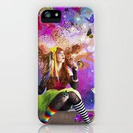 The Endless Delight of Delirium iPhone Case
