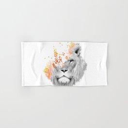 If I roar (The King Lion) Hand & Bath Towel