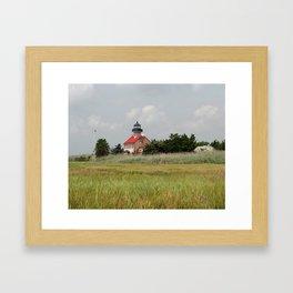 Historic East Point Light Framed Art Print