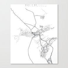 wahi a' wā Canvas Print