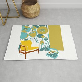 The yellow chair Rug