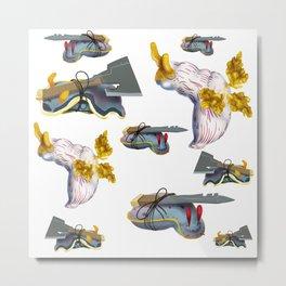 Warrior Slugs Metal Print