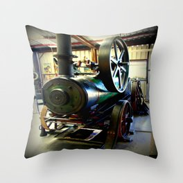 Colchester Boiler Throw Pillow