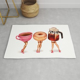 Coffee Pin-Ups Rug