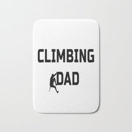 Climbing Dad Bath Mat