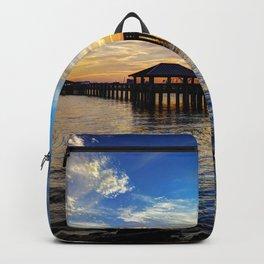 Biloxi Bay Sunset Backpack