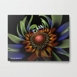 Centauri Sunflower Metal Print