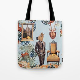 Mr. Horse Tote Bag