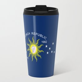 The Conch Republic Flag Travel Mug