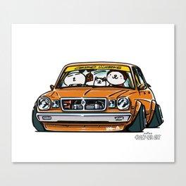 Crazy Car Art 0146 Canvas Print