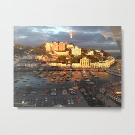 Habour Sunset Metal Print