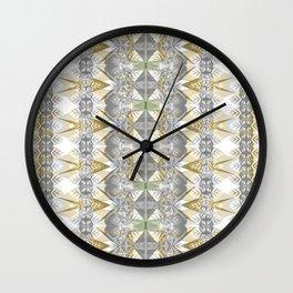 Classic Art Nouveaux Neo Tribal Geometric Wall Clock