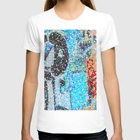 detroit T-shirts featuring DETROIT GRAFFITI by Brittany Gonte