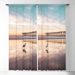 Marion's Gull Blackout Curtain