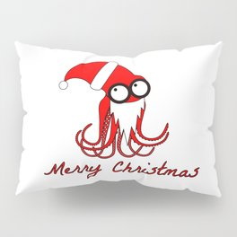 Santa Octopus Pillow Sham