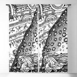 "Flammarion Woodcut (1888) ""Cosmic design"" (1) Blackout Curtain"