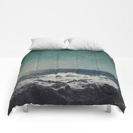 emerAld oceAn Comforters