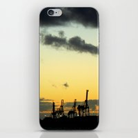 industrial iPhone & iPod Skins featuring Industrial by MKMalesevich