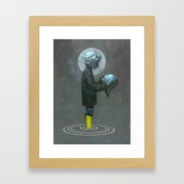 The Boy Framed Art Print
