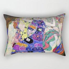 Gustav Klimt - The Virgin - Digital Remastered Edition Rectangular Pillow
