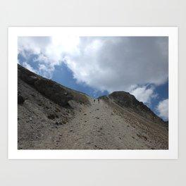 A Walk On The Mountain Art Print