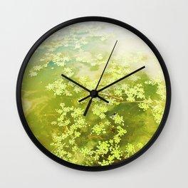 Water Plants Wall Clock