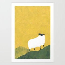 MOUNTAIN SHEEP Art Print