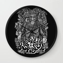 Knowledge is King... Wall Clock