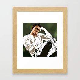 hey girl  Framed Art Print