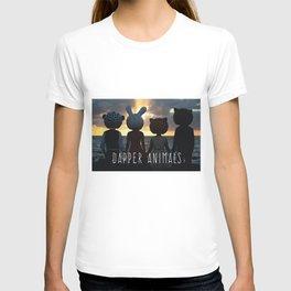 Dapper Animals Sunset T-shirt