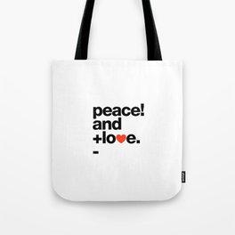 Helvetica Typoster #8 Tote Bag
