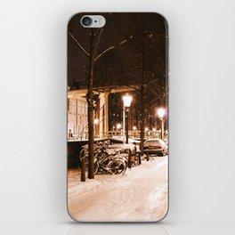 AMSTERDAM / White Winter iPhone Skin