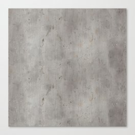 Dirty Bare Concrete Canvas Print