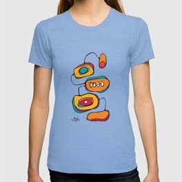 Scribbles 03 in Color T-shirt