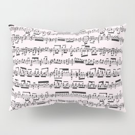 Sheet Music // Lavender Blush Pillow Sham