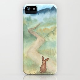 The Long and Winding Road iPhone Case