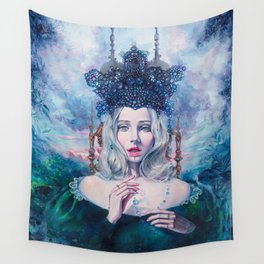 Self-Crowned Wall Tapestry
