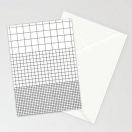 3 Grids Stationery Cards