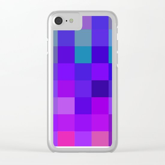 Quadros 02 Clear iPhone Case