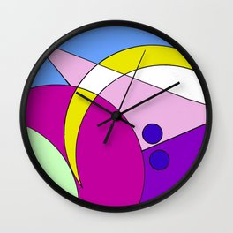 Taking the right Direction                By Kay Lipton Wall Clock