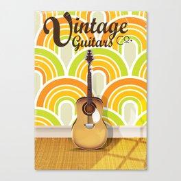 Vintage Guitar Corp. Canvas Print