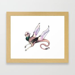 Winged Beast Framed Art Print