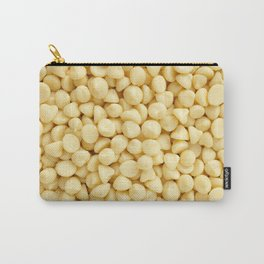 Milky white chocolate chips Carry-All Pouch