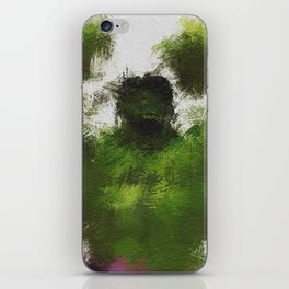 Smashing Green iPhone Skin